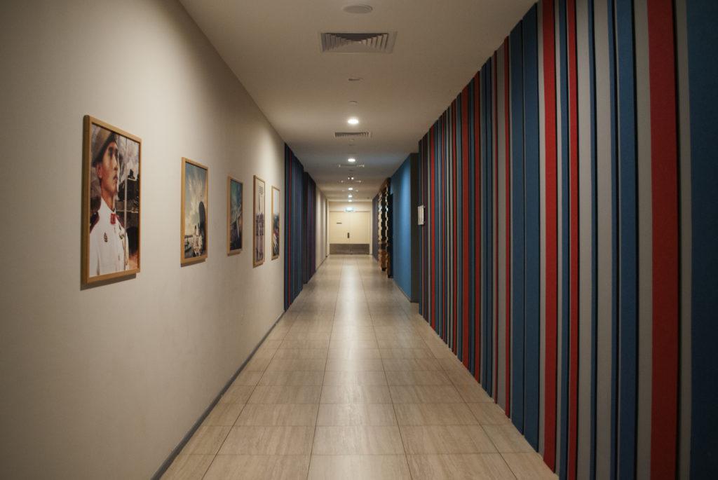 Hallways, Temasek Club, Singapore